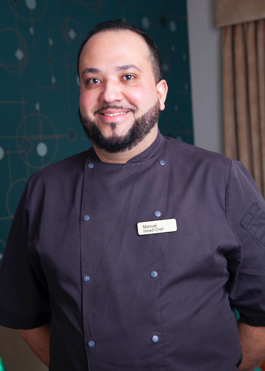 Manuel Head Chef at Foxholes care home