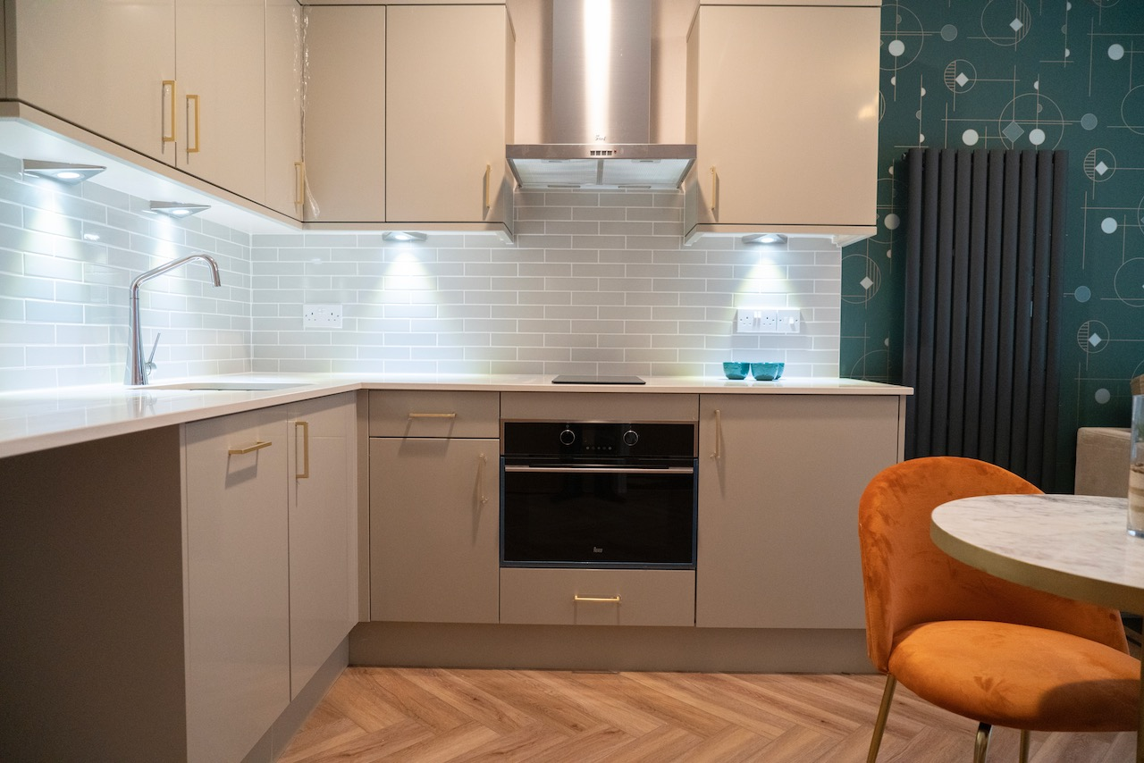 foxholes care home hitchin suites kitchen cooker